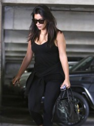 Kim Kardashian - Going to a meeting in Encino 9/16/14