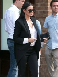 Demi Moore - Out & About in NYC 9/18/14