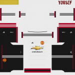 PES2014 Manchester United Adidas Fantasy Kit by Yousef