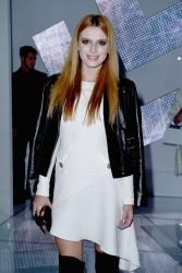 Bella Thorne - Versace fashion show in Milan 9/19/14