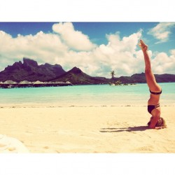 Ashley Tisdale - Bikini Beach Instagram Pic From Bora Bora - 9/18/14