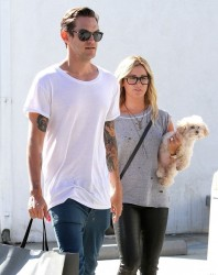 Ashley Tisdale - Shopping in West Hollywood 9/20/14