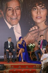 "Lady Gaga - ""Cheek to Cheek"" Press Conference in Brussels, Belgium 9/22/14"