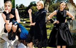 Chloe Moretz, Dakota Fanning, Maria Menounos, Rosamund Pike (Wallpaper) 5x