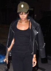 Rihanna - Going to a studio in NYC 9/24/14