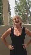 Erika Eleniak - ALS Ice bucket challenge (cleavage)