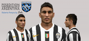 Download PES 2014 Roberto Pereyra Face by Fede
