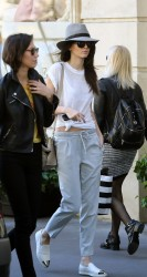 Kendall Jenner - Out & About in Paris 9/26/14
