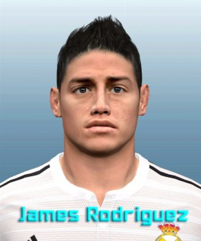 Download Face James Rodriguez by JuanM