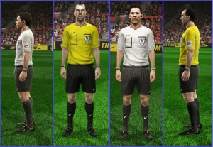 Download PES 2013 Referee Kits EPL 14-15 by HendriSimZ
