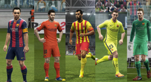Download PES 2013 FC Barcelona GDB 2014-15 by Vulcanzero
