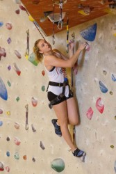 Chloe Moretz Indoor Rock Climbing in Atlanta - 9/28/14