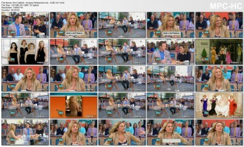Kim Cattrall - Access Hollywood Live - 9-29-14
