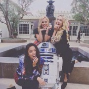 Olivia Holt - Star Wars Outing