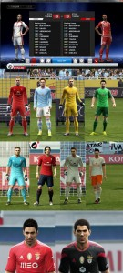 Download PES 2013 Benfica Fix, Celta vigo, Osasuna, Tunisia 14-15 Kits by Ikaru111