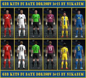 Download PES 2013 GDB Kits FC BATE Borisov 14-15 by NikadimPES 2013 GDB Kits FC BATE Borisov 14-15 by Nikadim