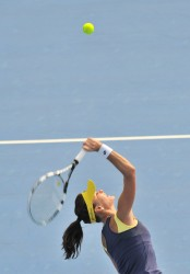 Agnieszka Radwanska 2nd round of 2014 China Open in Beijing 30/09/2014 4