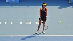 Agnieszka Radwanska 2nd round of 2014 China Open in Beijing 30/09/2014 2