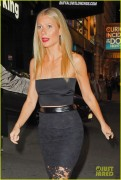 Gwyneth Paltrow - Arriving at the Samuel J. Friedman Theatre 10/02/14