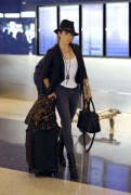 Nikki Reed checks in at LAX Airport 10/01/14