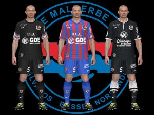 Download PES 2014 SM Caen Kits 14-15 by randerscheinung
