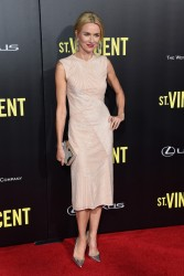Naomi Watts - 'St. Vincent' Premiere in NYC 10/6/14