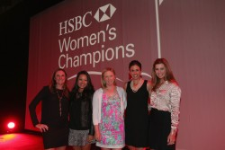 Paula Creamer at the Welcome Reception prior to the start of the HSBC Women's Champions at the Sentosa Golf Club 2/26/14