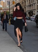 Kendall Jenner - Leaving her apartment in NYC 10/7/14