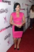 Demi Lovato - Vevo CERTIFIED SuperFanFest in Santa Monica 10/8/14
