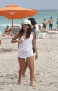 Eva Longoria on the Beach in Miami - September 13-2014 x326