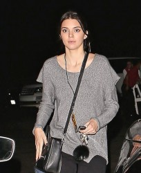 Kendall Jenner - Leaving The Hollywood Bowl 10/9/14