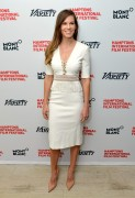 Hilary Swank - Variety's 10 Actors to Watch Brunch in East Hampton October 12-2014 x7