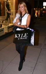Paris Hilton - Shopping in Beverly Hills 10/14/14