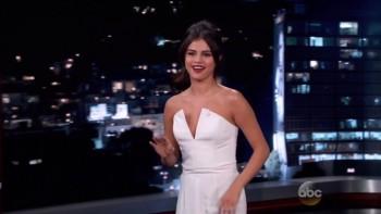 SELENA GOMEZ - Jimmy Kimmel 10.15.14