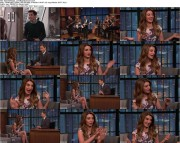 Nasim Pedrad on Late Night, Meredith Vieira Show, 10/14; 1280x720