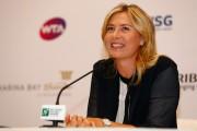 Maria Sharapova Press Conference ahead of the WTA October 19-2014 x9