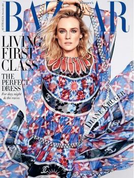 Diane Kruger - Harper's Bazaar Cover Australia November - x 1