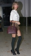 Taylor Swift - at Sydney Airport 10/21/14