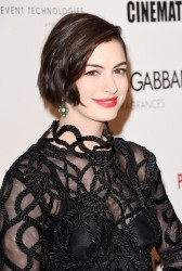 Anne Hathaway - 28th American Cinematheque Awards in Beverly Hills 10/21/14