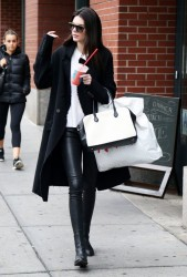 Kendall Jenner - Out & About in NYC 10/22/14