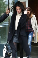 Kendall Jenner - Out & About in NYC 10/23/14