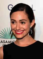 Emmy Rossum - Brian Bowen Smith's WILDLIFE Show in West Hollywood 10/23/14