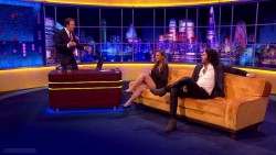 Lindsay Lohan | The Jonathan Ross Show | Oct 25, 2014 | 720p [Leggy]