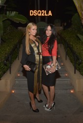 Paris Hilton - Dsquared2 Celebrates First Boutique in LA 10/28/14