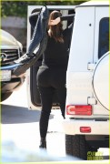 Kylie Jenner & Khloe Kardashian - Out for lunch in LA 10/29/14