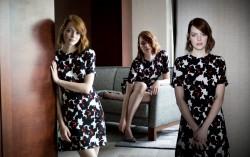Emma Stone, Emma Watson, Emmy Rossum, Nicole Scherzinger (Wallpaper) 4x