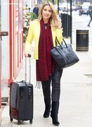 Gemma Merna - Inanch Hair Salon, London, 30-Oct-14