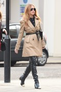Lindsay Lohan - Out in London 30-10-2014