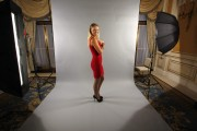 Caroline Wozniacki hot in a tight red dress and high heels x17 | 2010 photoshoot