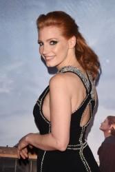 """Jessica Chastain - """"Interstellar"""" Premiere in NYC 11/3/14"""